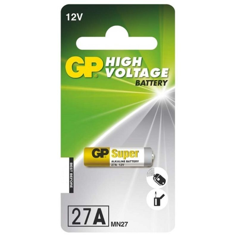 GP HIGH VOLTAGE 27A PİL 12V