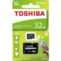 Toshiba Micro SD Card 32 GB Speed 48 MB/s 320x